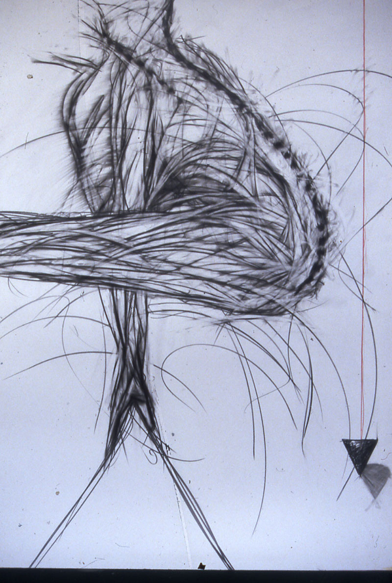 Vault Graphite on paper 160x120cm