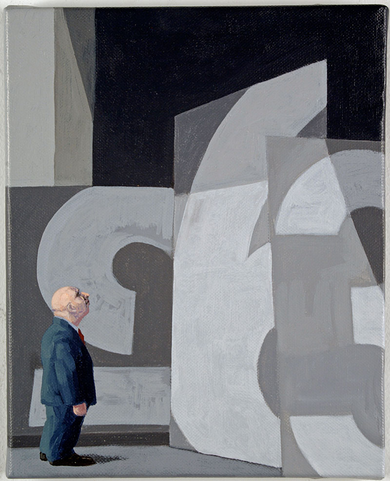 Certain Orders, 2009 acrylic on canvas 250  x 200cm
