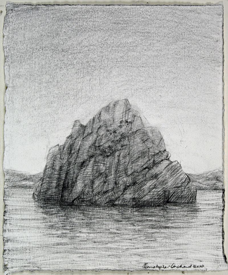 2011 Fault 1 Pastel on paper, 19x15cm